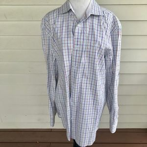 Robert Graham XXL Men's Long Sleeve Dress Shirt